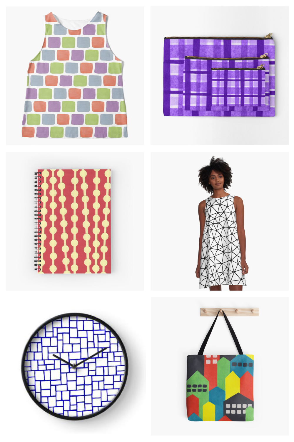 Sally Cummings Designs - Redbubble store preview, December 2018