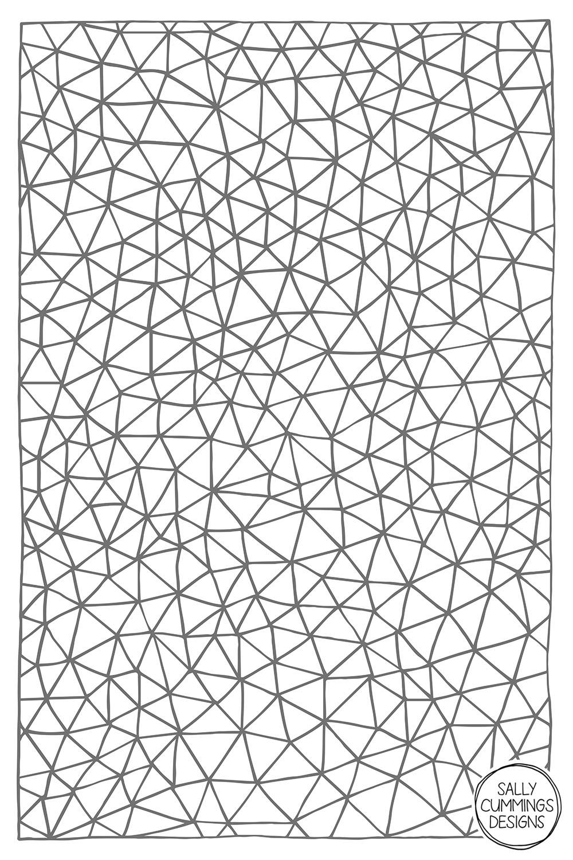 Sally Cummings Designs - Connectivity (Grey)