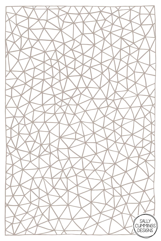 Sally Cummings Designs - Connectivity (Stone)