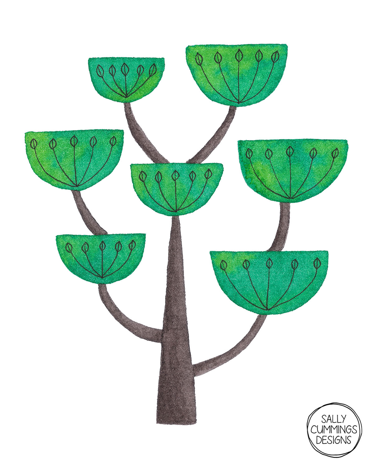 Sally Cummings Designs - Chalice Tree
