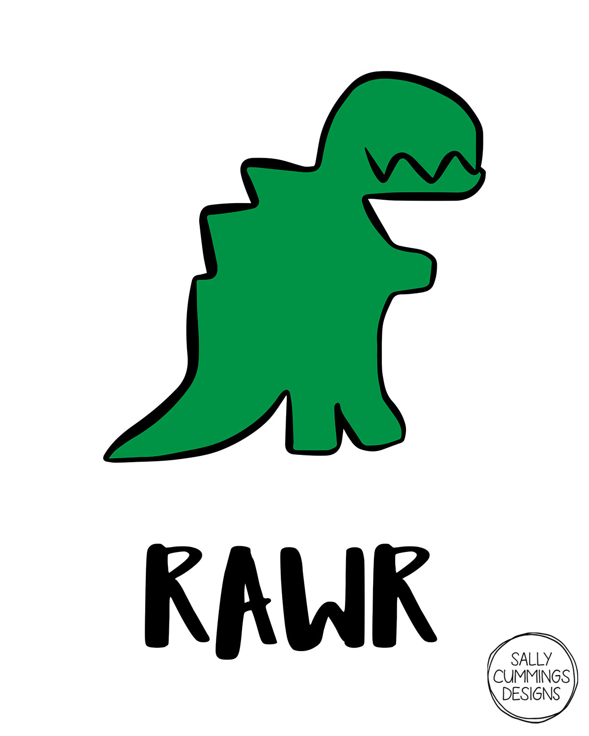 Sally Cummings Designs - Rawr