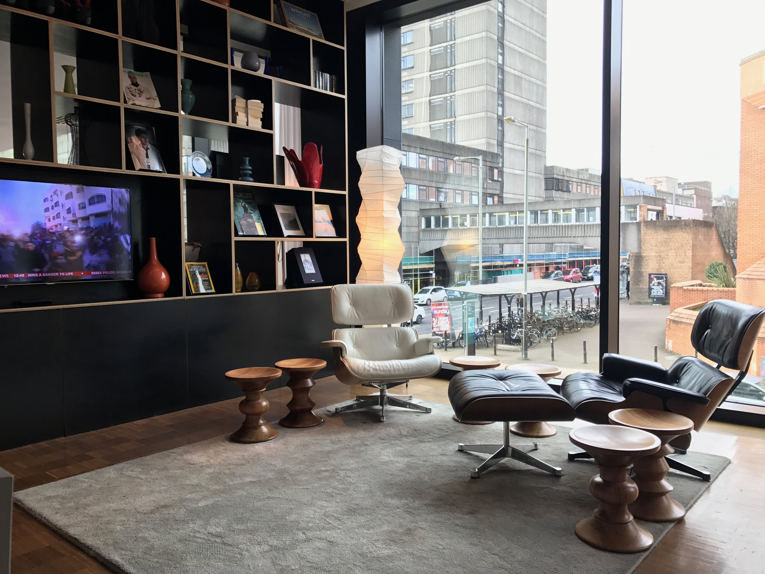 Citizen M in Glasgow – a great meeting/working space