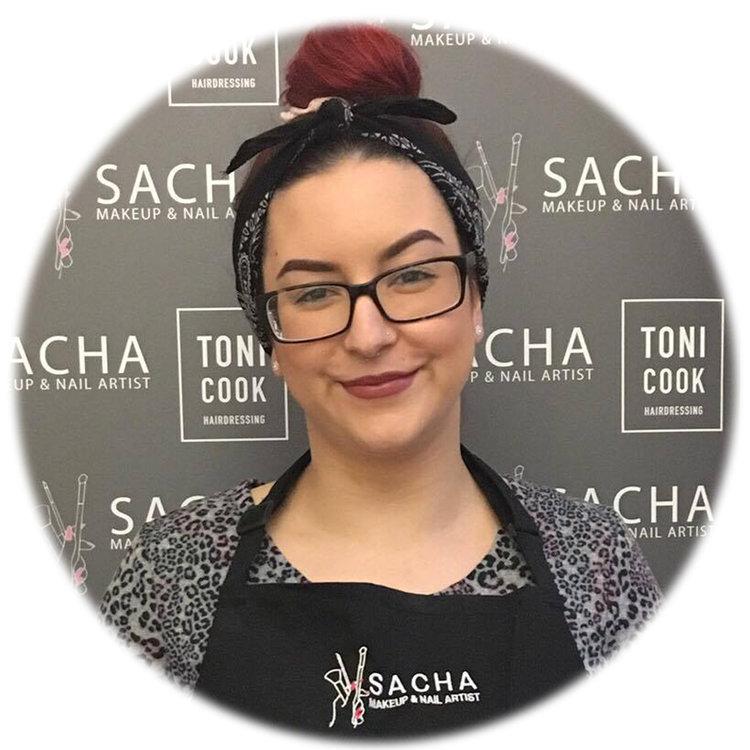 Sacha Glasgow Makeup Nails