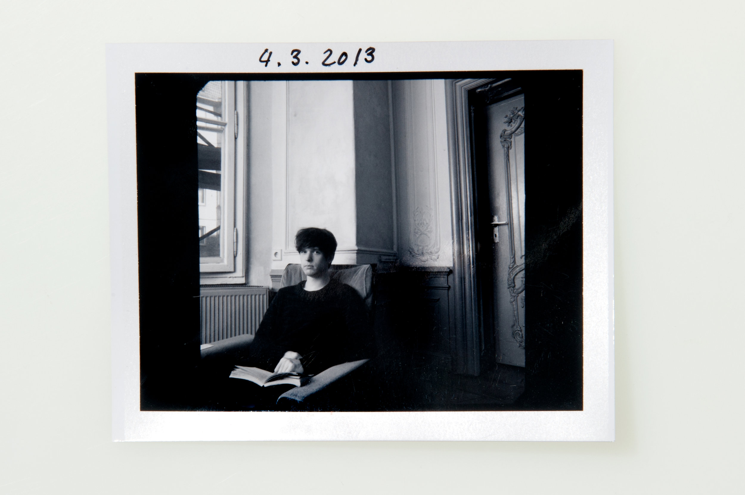 James Blake - Polaroid Type 664
