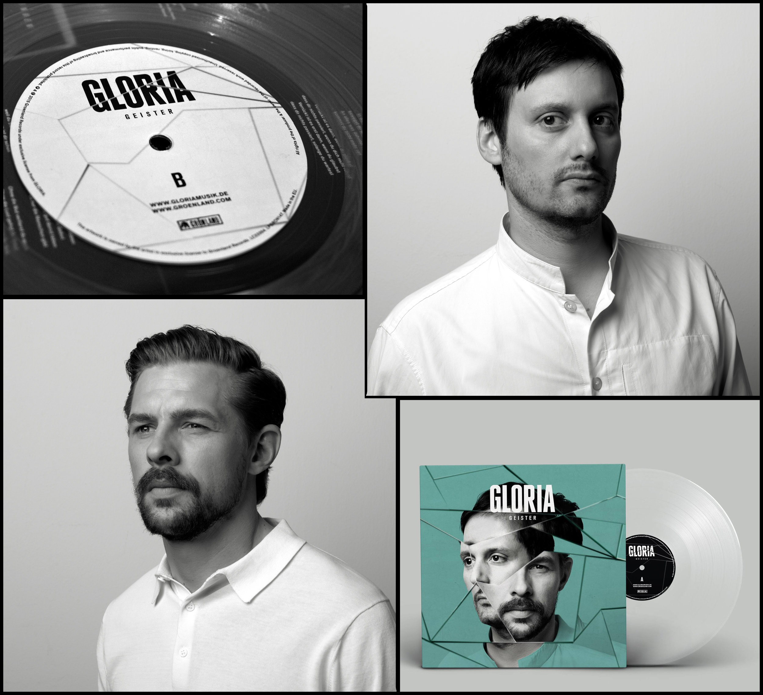 Gloria, for Grönland Rec. / Artwork by Rocket & Wink