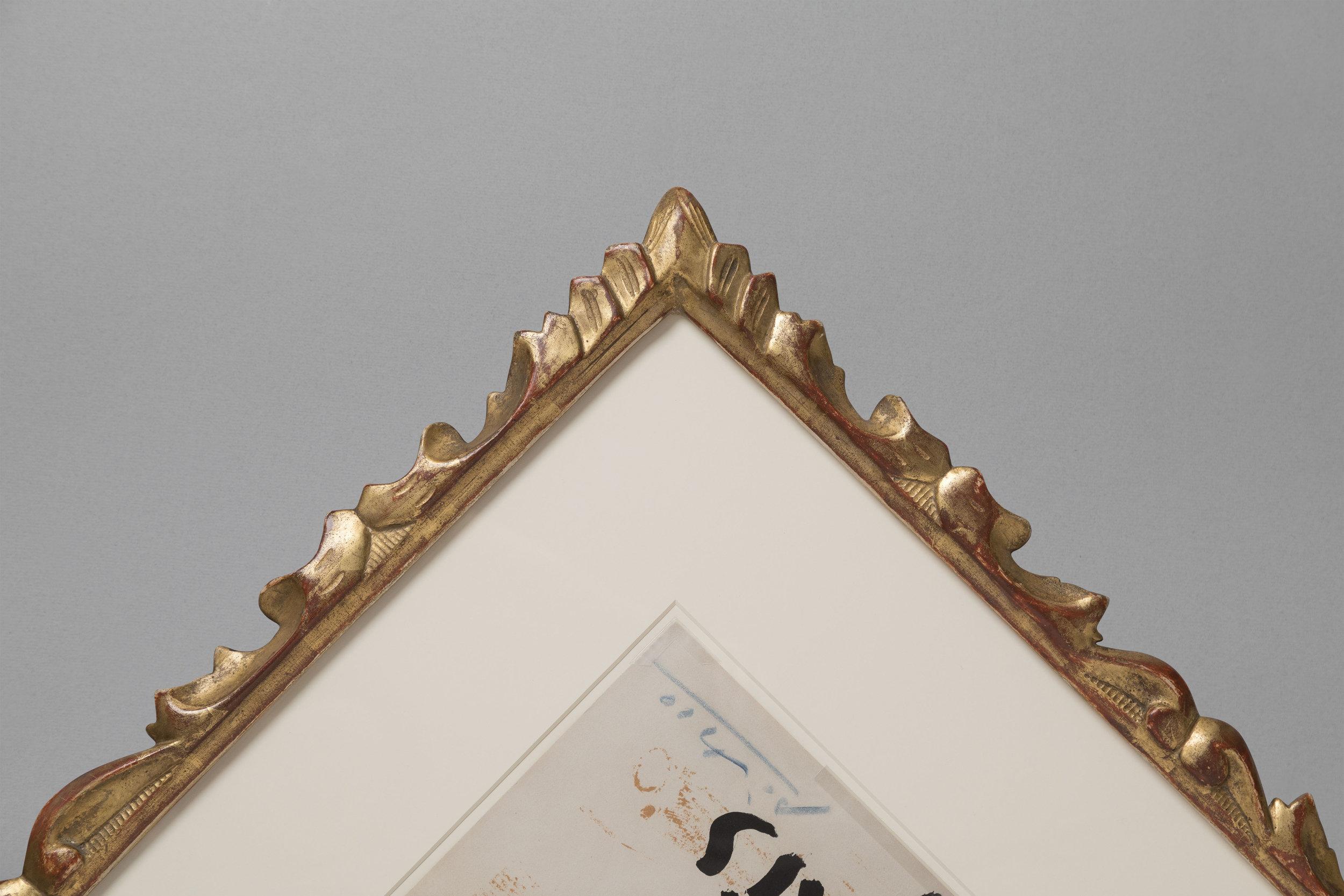 Antique frames for modern works