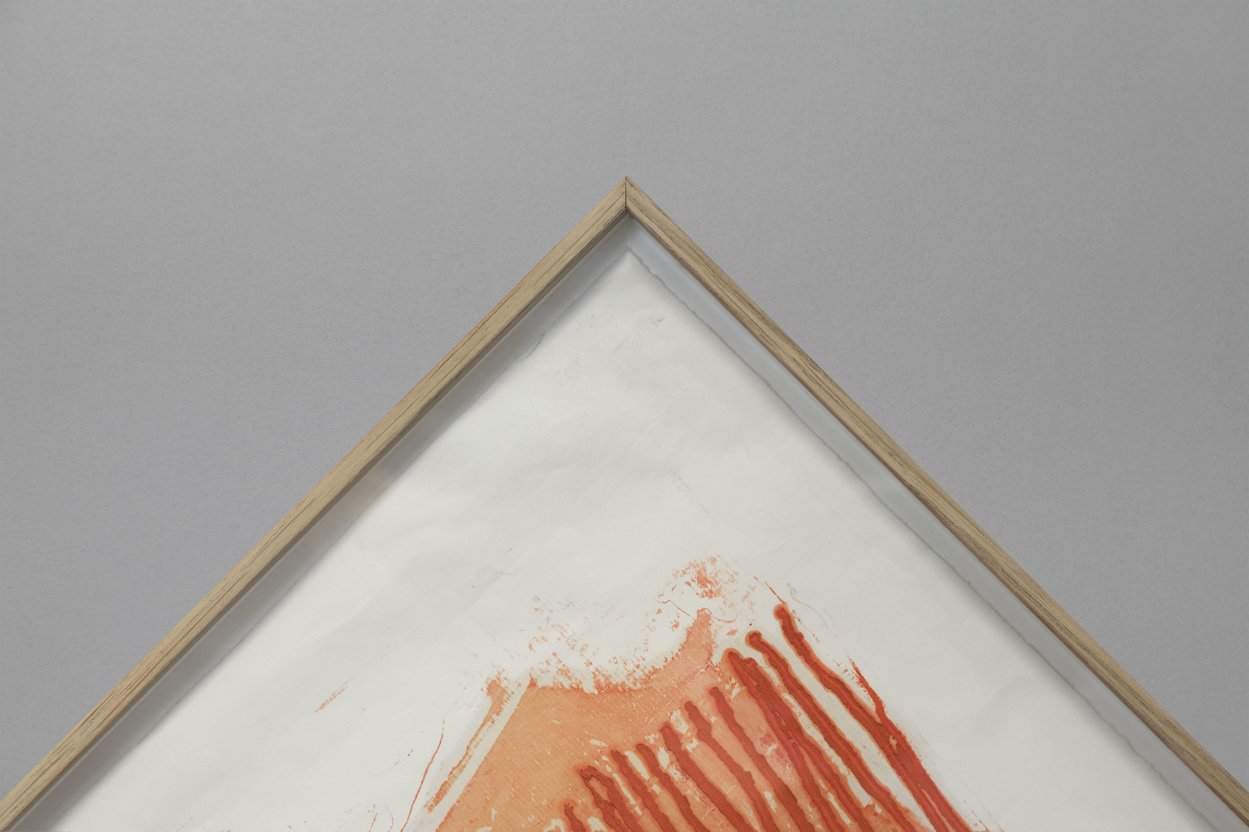 Contemporary wood veneered metal sections