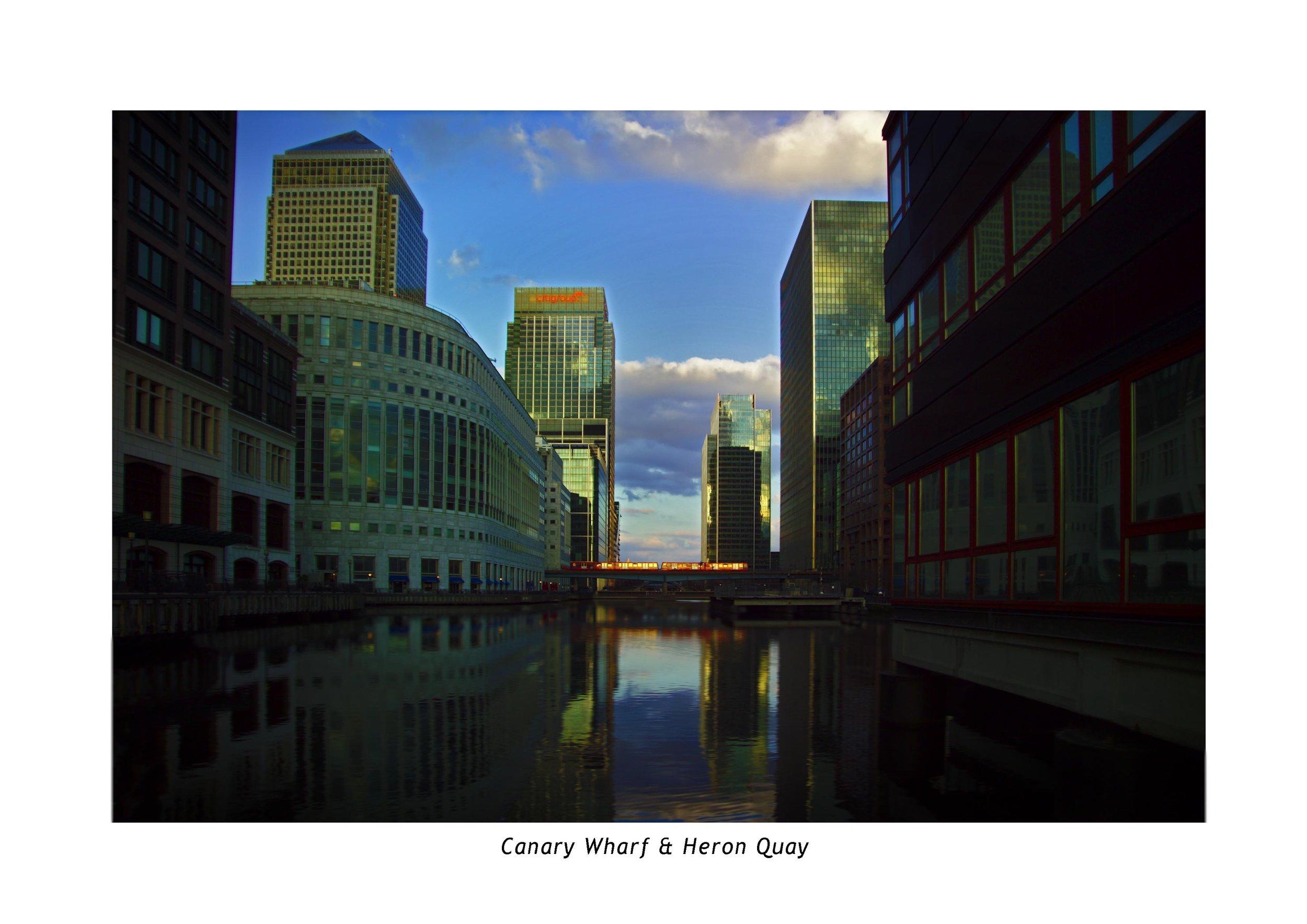 CANARY WHARF. HERON QUAY.JPG