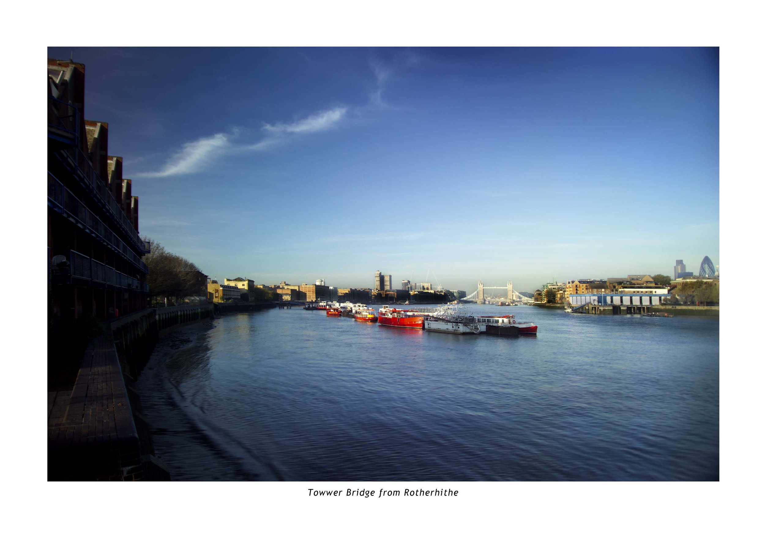 TOWER BRIDGE FROM ROTHERHITHE .JPG