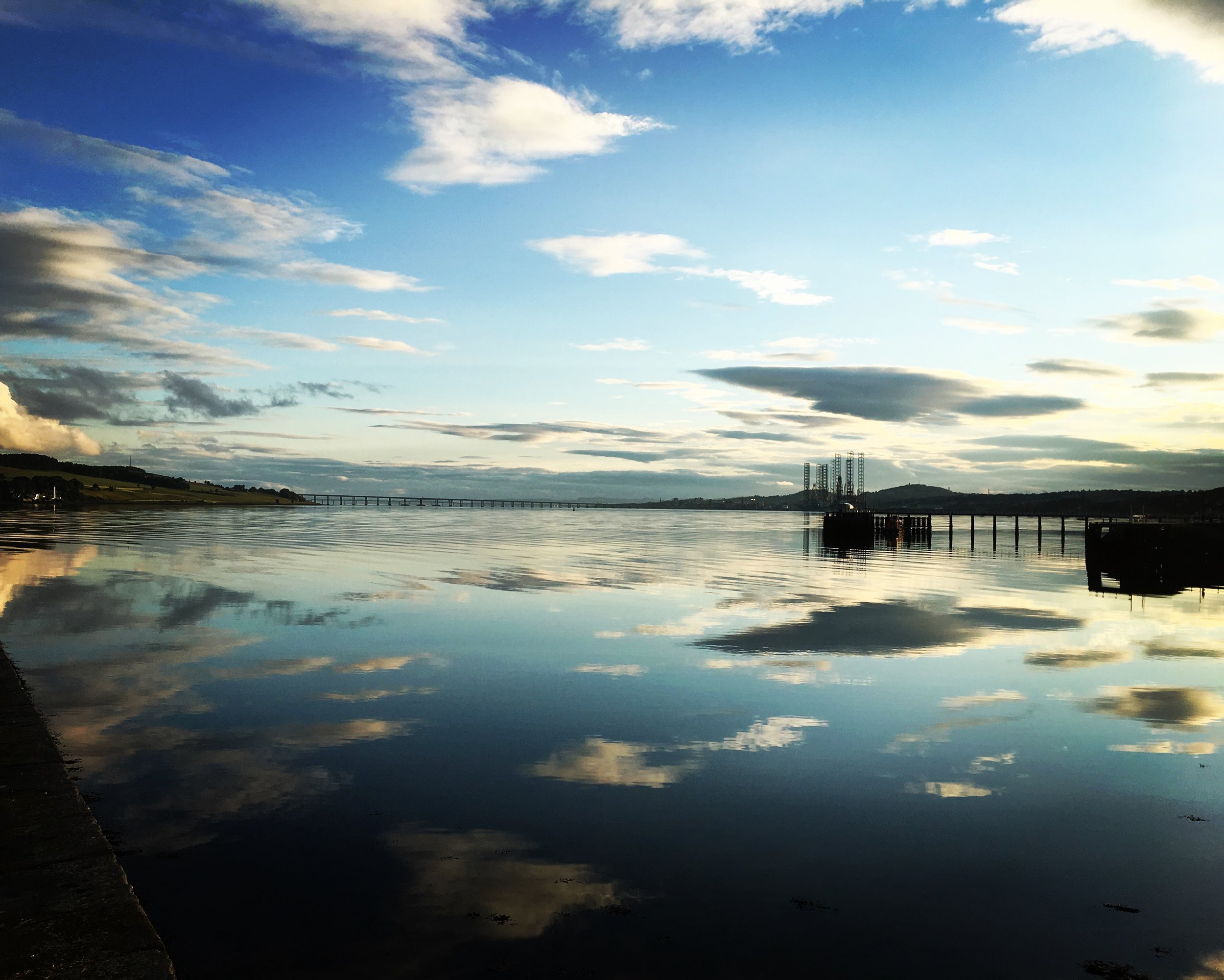 Life is a River - Archie Whitewater. Home - Dundee. The mighty River Tay from Broughty Ferry.