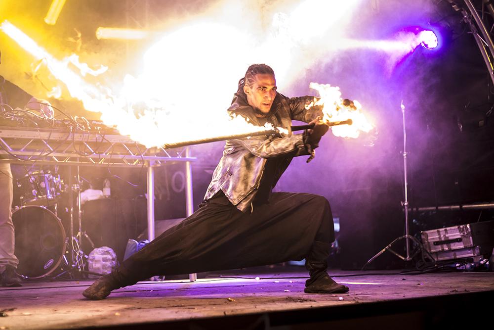 Cirque De La Quirk stage at The Isle of Wight Festival, 2017
