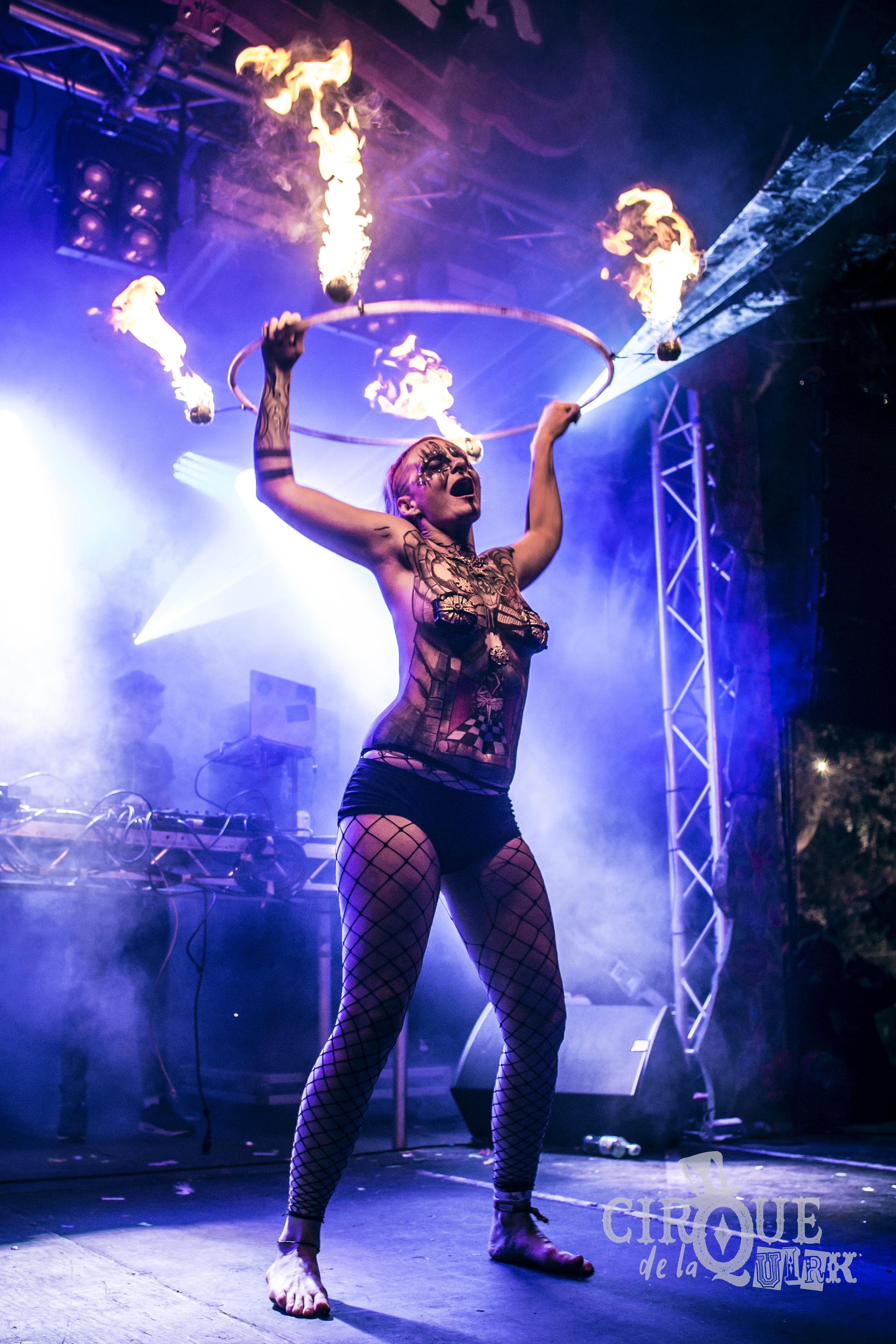 Cirque De La Quirk stage at The Isle of Wight Festival, 2018
