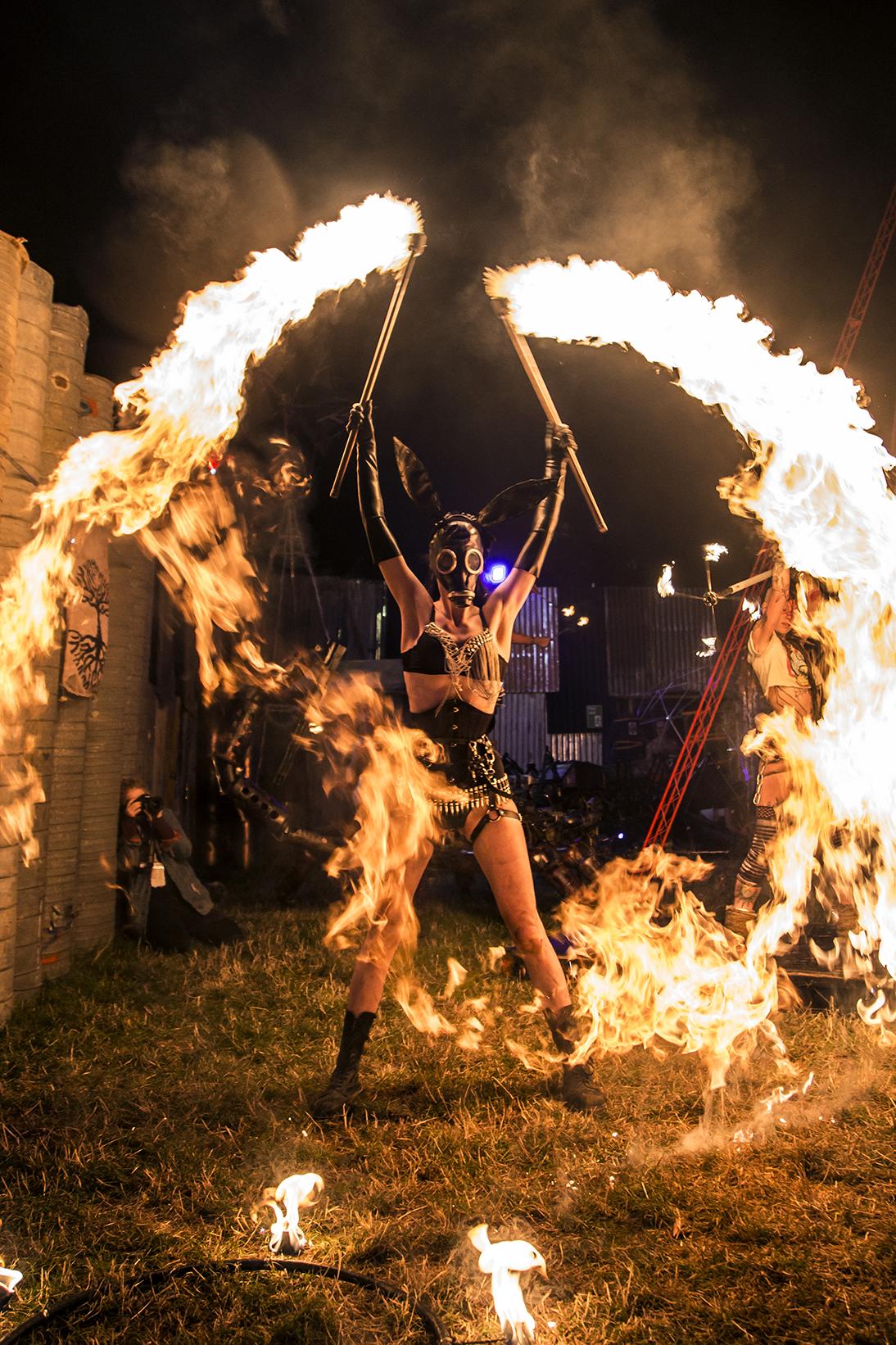 Forgotten Circus at Boomtown Fair, 2018