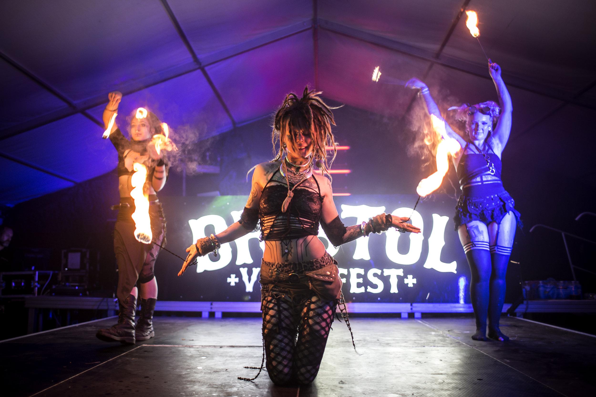 Forgotten Circus at Bristol Volksfest, 2018