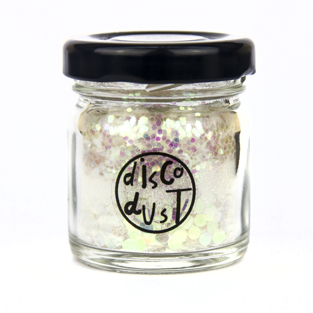 Disco Dust product photography