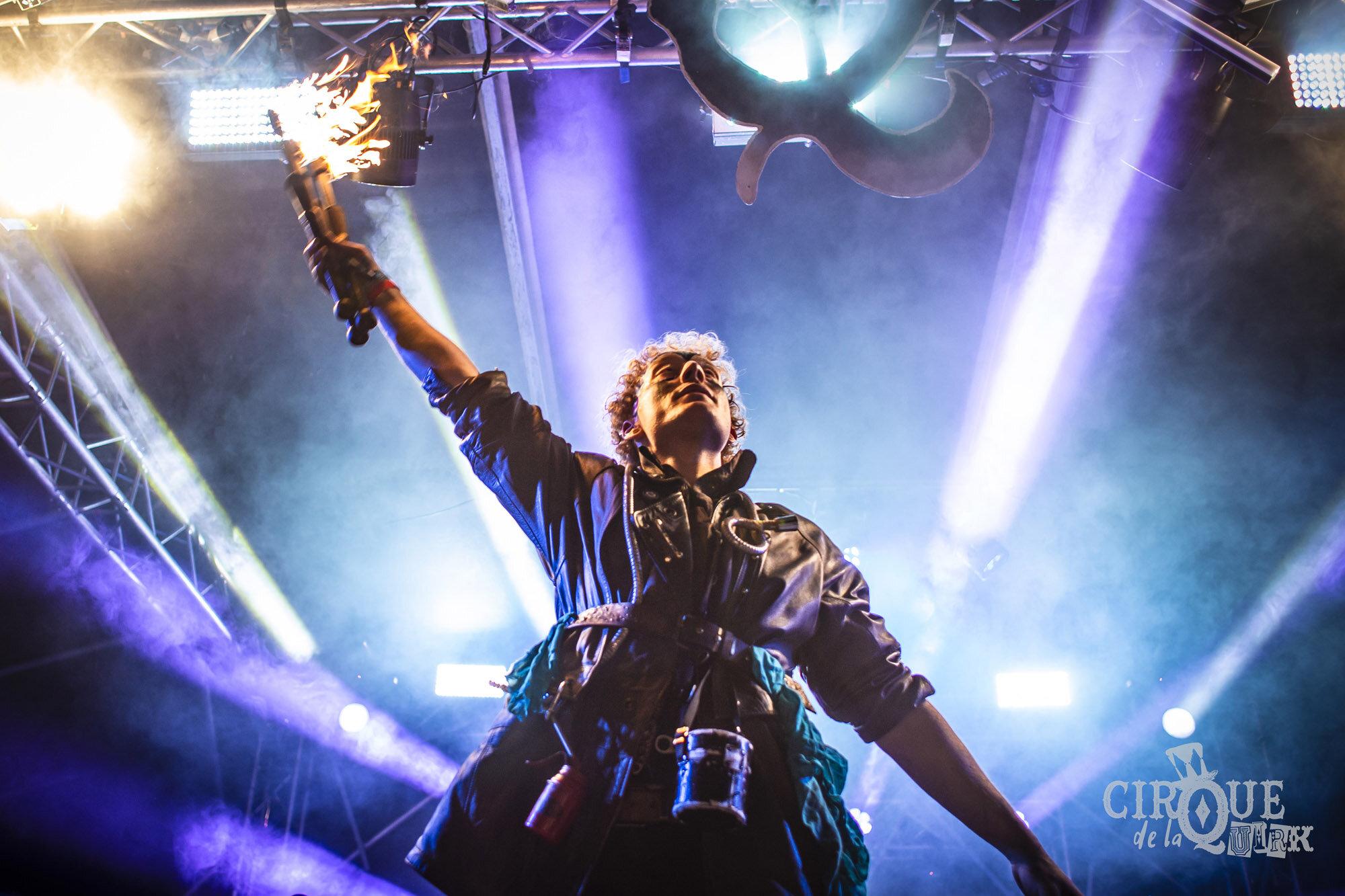 Cirque De La Quirk stage at The Isle of Wight Festival, 2019