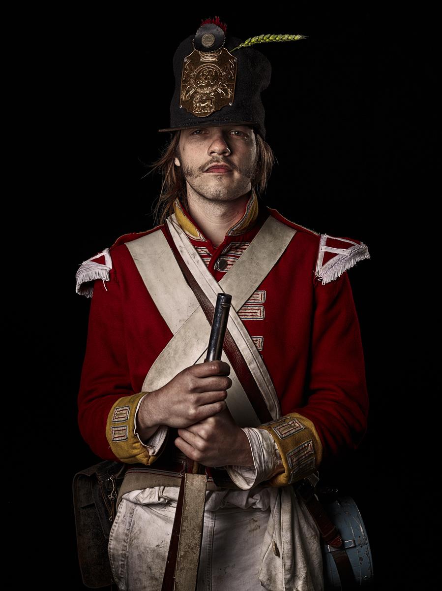 Private, 27th (Inniskilling) Regiment of Foot, Britain
