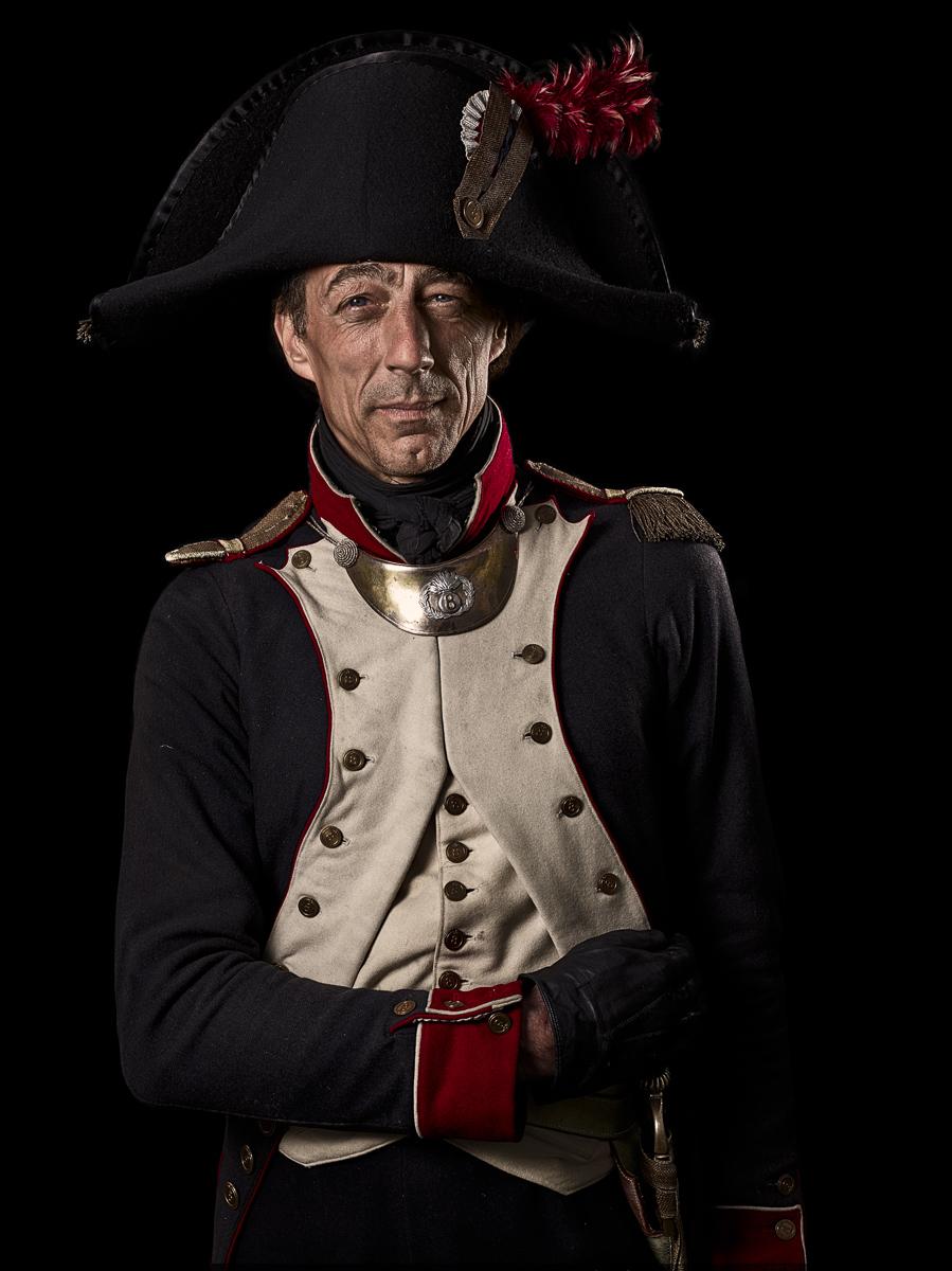 Capitaine, 8e Régiment d'Infanterie de Ligne, France