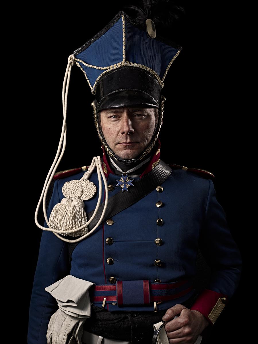 Rittmeister, 1. Garde -Ulanen Escadron, Preußen