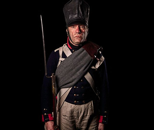 Musketier, 2. Brandenburgische Regiment zu Fuß, Preußen Unseen Waterloo: The Conflict Revisited, is a series of imaginary portraits by photographer Sam Faulkner @faulknerphotog exploring how we remember the fallen from a time before photography. Everyone of these images was made on the actual battlefield of Waterloo.  Use code INSTA50 for a 50% discount on the Unseen Waterloo book. Use link in the profile.  #Waterloo #battleofwaterloo #reenactment #livinghistory #napoleonic #Dukeofwellington #Napoleon #bulcher #prussia
