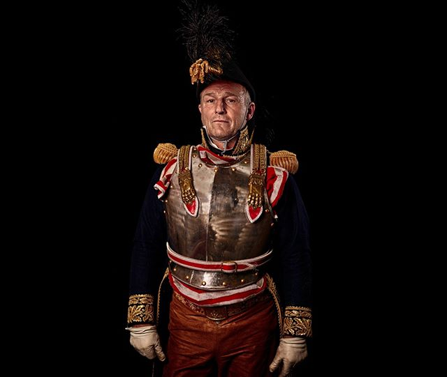 General,  3e Corps de Cavalerie, France Unseen Waterloo: The Conflict Revisited, is a series of imaginary portraits by photographer Sam Faulkner @faulknerphotog exploring how we remember the fallen from a time before photography. Everyone of these images was made on the actual battlefield of Waterloo.  Use code INSTA50 for a 50% discount on the Unseen Waterloo book. Use link in the profile.  #Waterloo #battleofwaterloo #reenactment #livinghistory #napoleonic #Dukeofwellington #Napoleon #cavalry