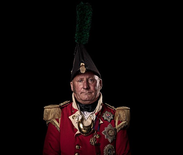 Major, 32nd (Cornwall) Regiment of Foot, Britain  Unseen Waterloo: The Conflict Revisited, is a series of imaginary portraits by photographer Sam Faulkner @faulknerphotog exploring how we remember the fallen from a time before photography. Everyone of these images was made on the actual battlefield of Waterloo. Use code INSTA50 for a 50% discount on the Unseen Waterloo book. Use link in the profile.  #Waterloo #battleofwaterloo #reenactment #livinghistory #napoleonic #Dukeofwellington #Napoleon #32ndregiment #cornwall