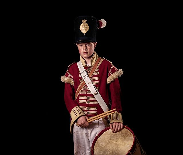 Today is the 204th anniversary of the Battle of Waterloo Drummer, 52nd (Oxfordshire) Regiment of Foot, Britain Unseen Waterloo: The Conflict Revisited, is a series of imaginary portraits by photographer Sam Faulkner @faulknerphotog exploring how we remember the fallen from a time before photography.  Everyone of these images was made on the actual battlefield of Waterloo. Use code INSTA50 for a 50% discount on the Unseen Waterloo book. Use link in the profile. #Waterloo #battleofwaterloo #reenactment #livinghistory #napoleonic #Dukeofwellington #Napoleon #drummer #redcoat #drummerboy #52ndregiment #oxfordshire #204years #1815 #anniversary #onthisdayinhistory