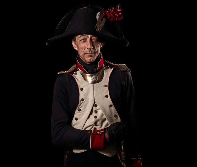 Capitaine, 8e Régiment d'Infanterie de Ligne, France  Unseen Waterloo: The Conflict Revisited, is a series of imaginary portraits by photographer Sam Faulkner @faulknerphotog exploring how we remember the fallen from a time before photography.  Every one of these images was made on the actual battlefield of Waterloo.  Use code INSTA50 for a 50% discount on the Unseen Waterloo book. Use link in the profile.  #Waterloo #battleofwaterloo #reenactment #livinghistory #napoleonic #Dukeofwellington #Napoleon #8eregiment