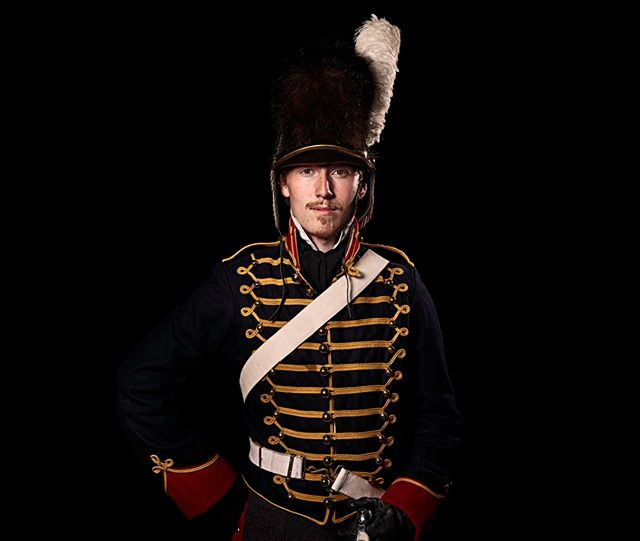 Gunner, Royal Horse Artillery, Britain Unseen Waterloo: The Conflict Revisited, is a series of imaginary portraits by photographer Sam Faulkner @faulknerphotog exploring how we remember the fallen from a time before photography.  Every one of these images was made on the actual battlefield of Waterloo.  Use code INSTA50 for a 50% discount on the Unseen Waterloo book. Use link in the profile.  #Waterloo #battleofwaterloo #reenactment #livinghistory #napoleonic #Dukeofwellington #Napoleon #gunner #royalhorseartillery