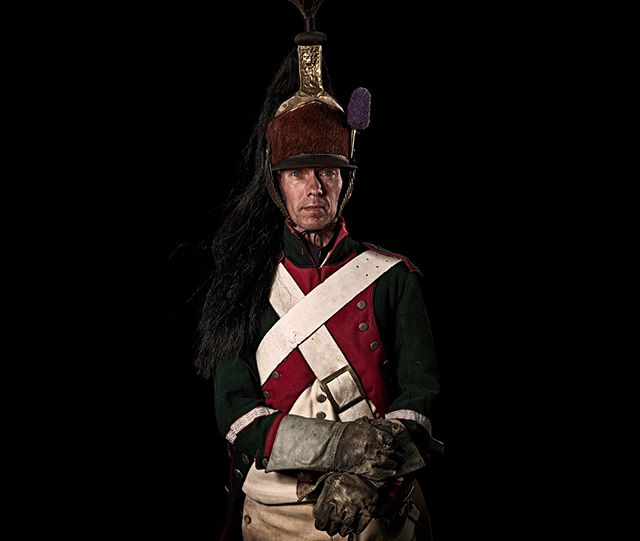 Maréchal-des-logis, 2e Régiment de Dragons, France  Unseen Waterloo: The Conflict Revisited, is a series of imaginary portraits by photographer Sam Faulkner @faulknerphotog exploring how we remember the fallen from a time before photography.  Every one of these images was made on the actual battlefield of Waterloo.  Use code INSTA50 for a 50% discount on the Unseen Waterloo book. Use link in the profile.  #Waterloo #battleofwaterloo #reenactment #livinghistory #napoleonic #Dukeofwellington #Napoleon