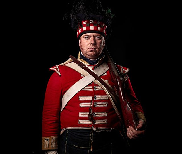 Private,92nd (Gordon Highlanders) Regiment of Foot, Britain  Unseen Waterloo: The Conflict Revisited, is a series of imaginary portraits by photographer Sam Faulkner @faulknerphotog exploring how we remember the fallen from a time before photography. Every one of these images was made on the actual battlefield of Waterloo.  Use code INSTA50 for a 50% discount on the Unseen Waterloo book. Use link in the profile.  #Waterloo #battleofwaterloo #reenactment #livinghistory #napoleonic #Dukeofwellington #Napoleon