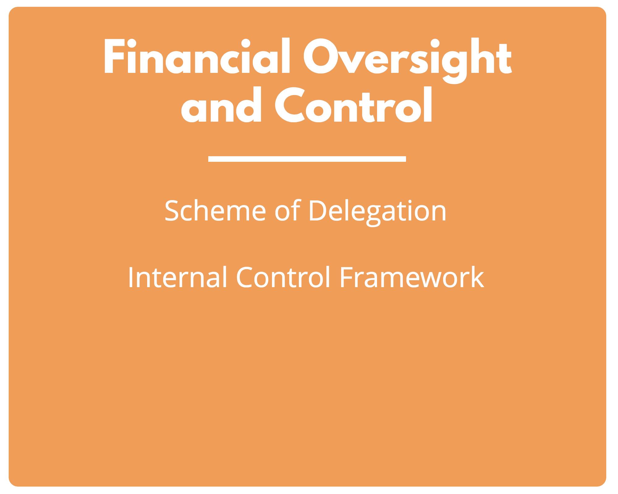 Financial Oversight