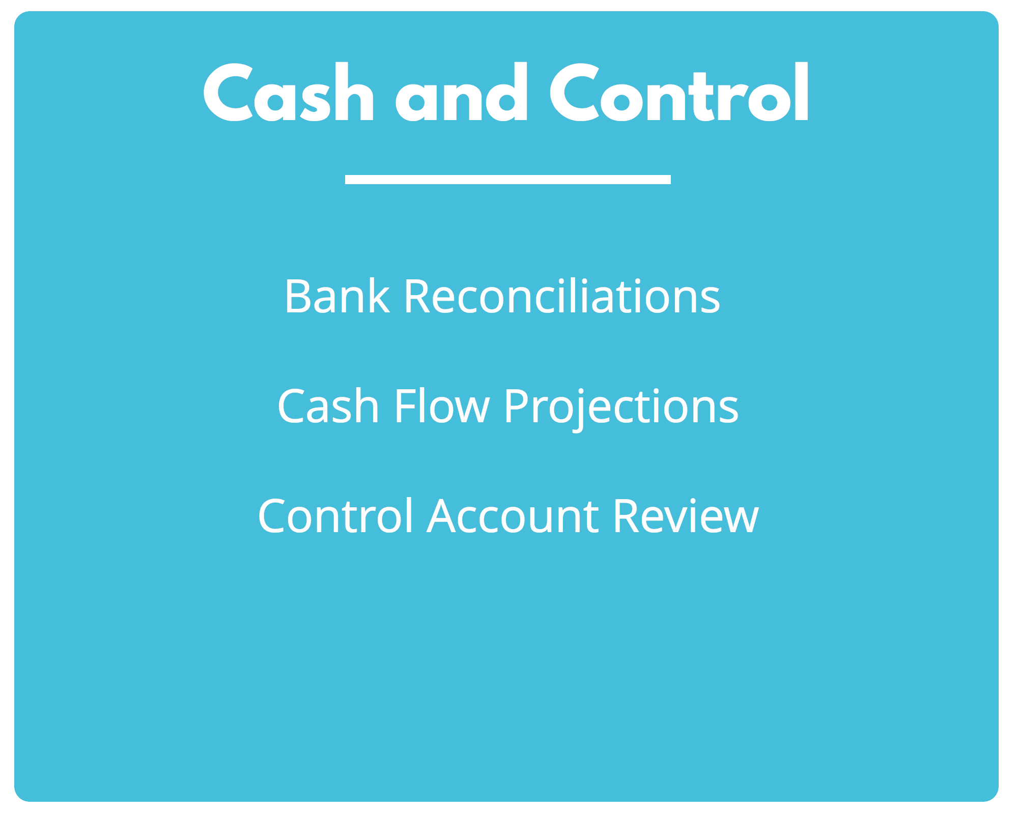 Cash and Control