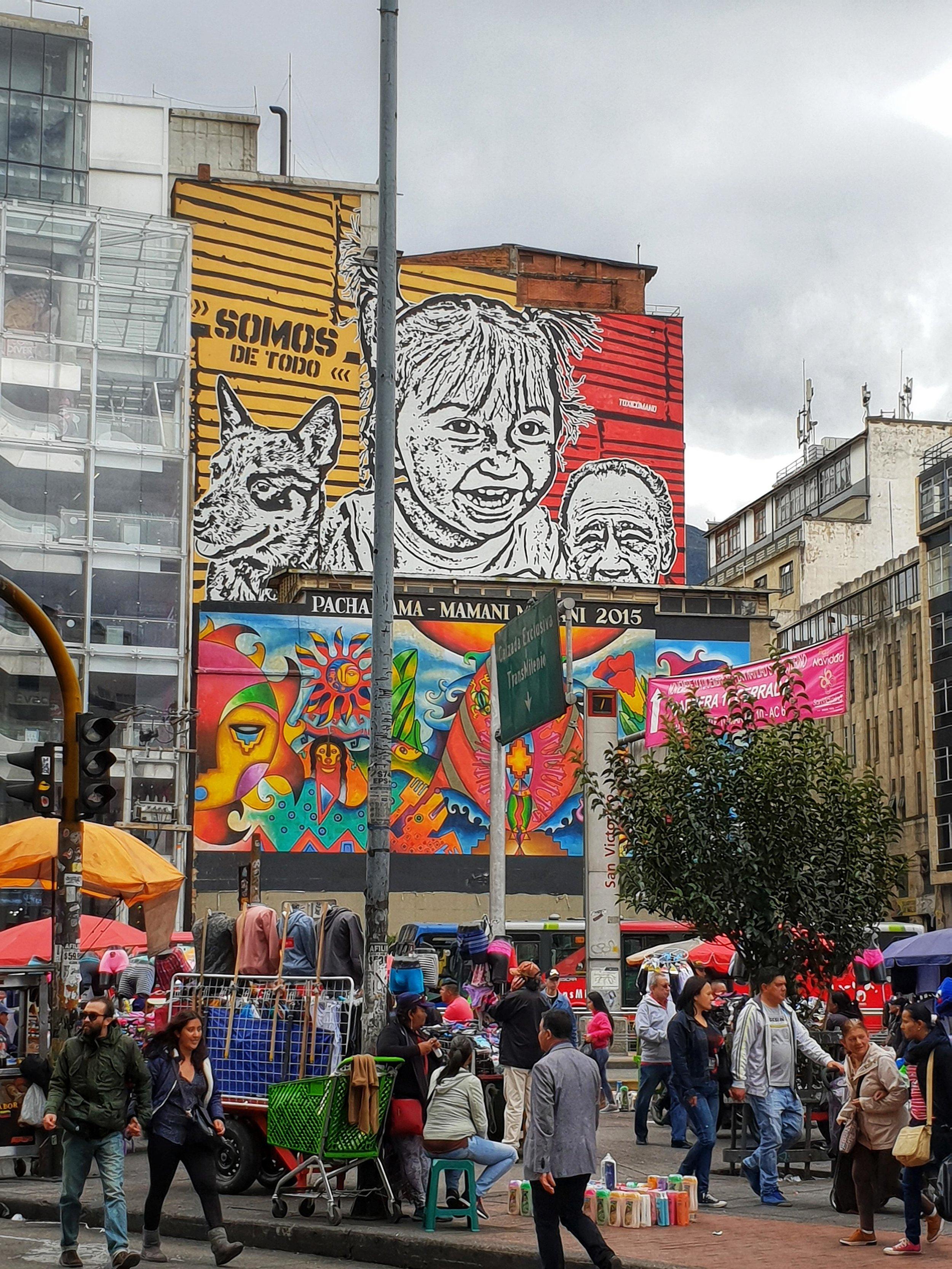 Colombia's graffiti capital, Botoga