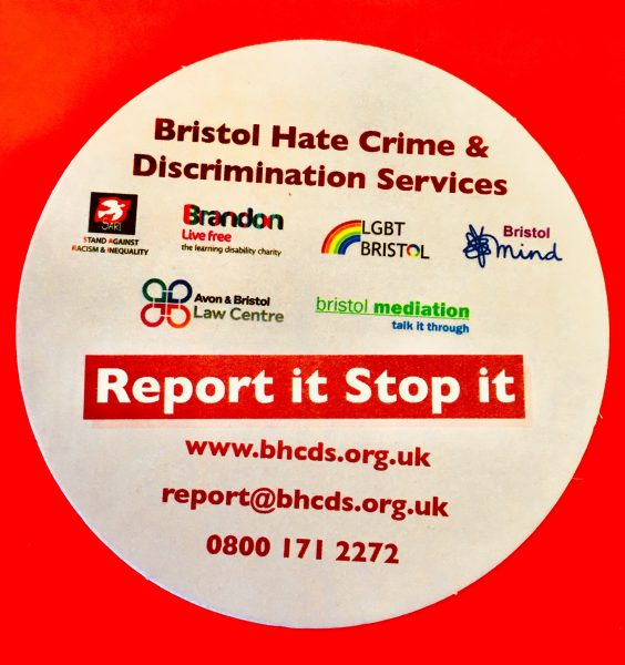 Image: Bristol Hate Crime Services