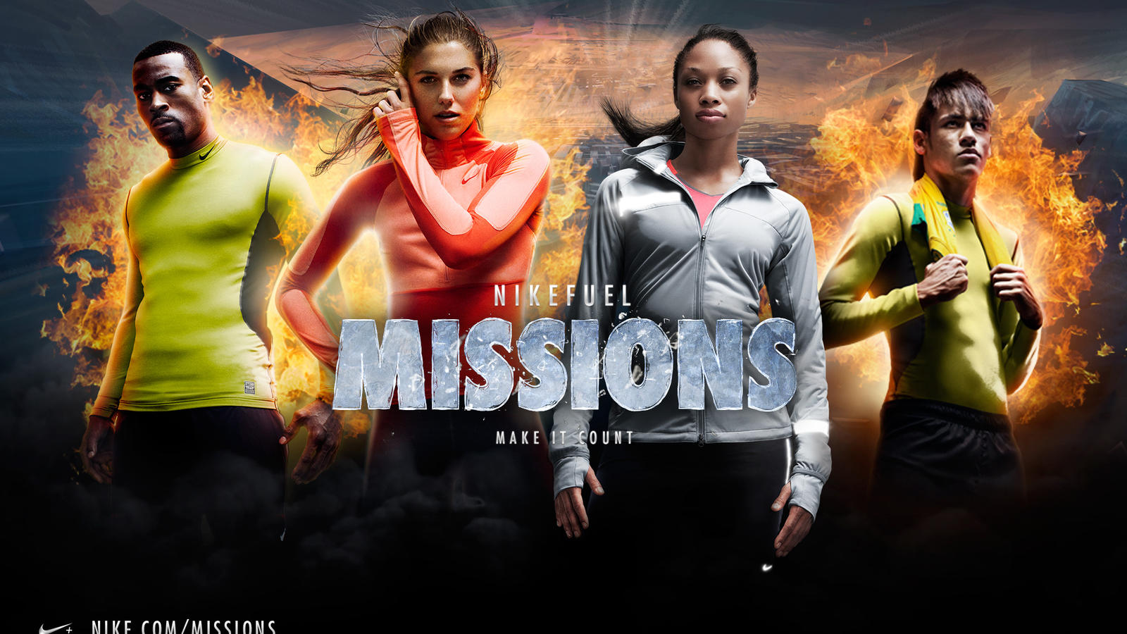 NikeFuel Missions is a classic example of share-ability and gamification as it turned daily exercise into an exciting game. Source:    Nike.