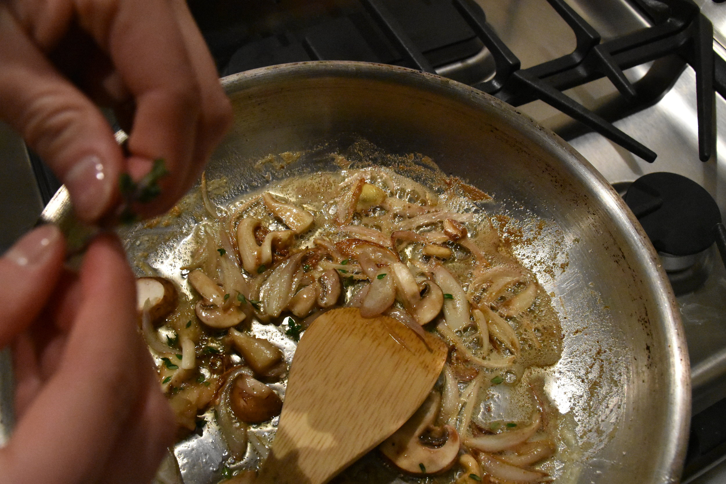 Valicenti Pasta Farm - Sautéed Shallots, Wild Mushroom, & Thyme