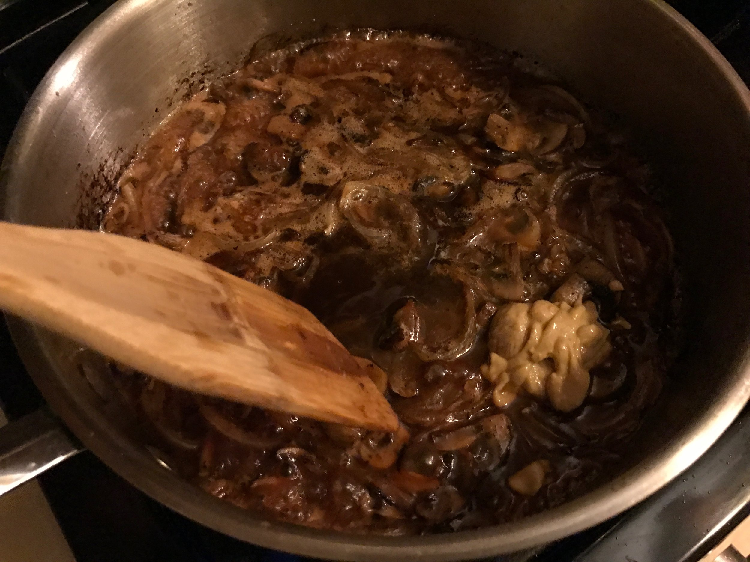 Valicenti Pasta Farm's Ale Caramelized Onion & Mushroom Recipe