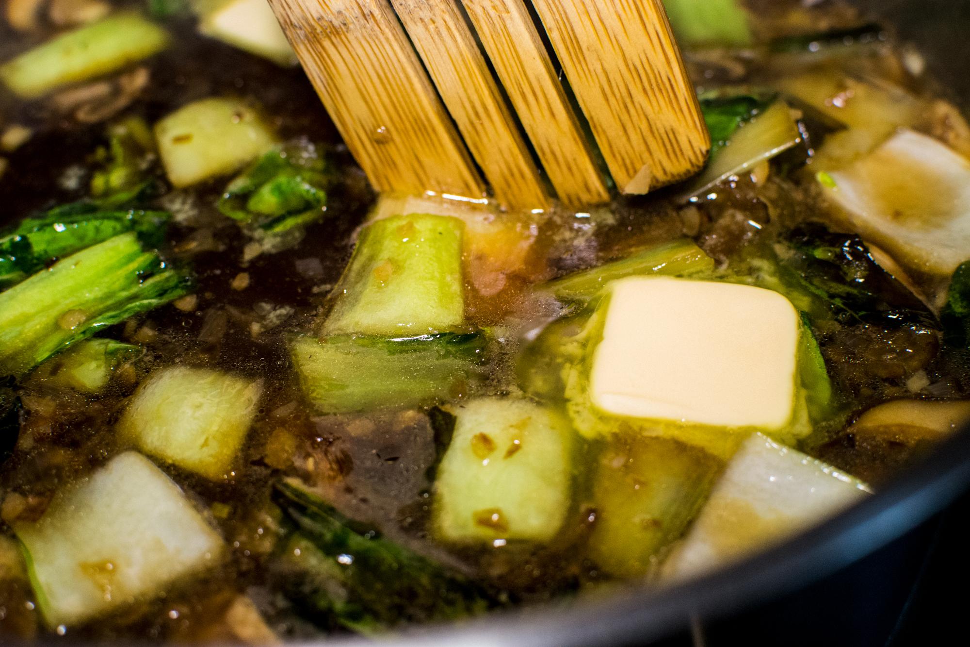 Valicenti Pasta Farm's Miso Broth Recipe