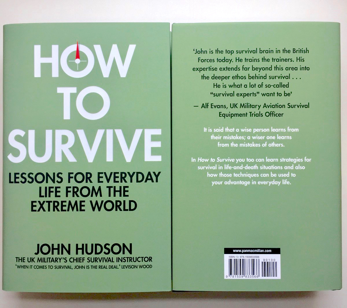 How to Survive covers, many thanks to Lev and Alf for their quotes