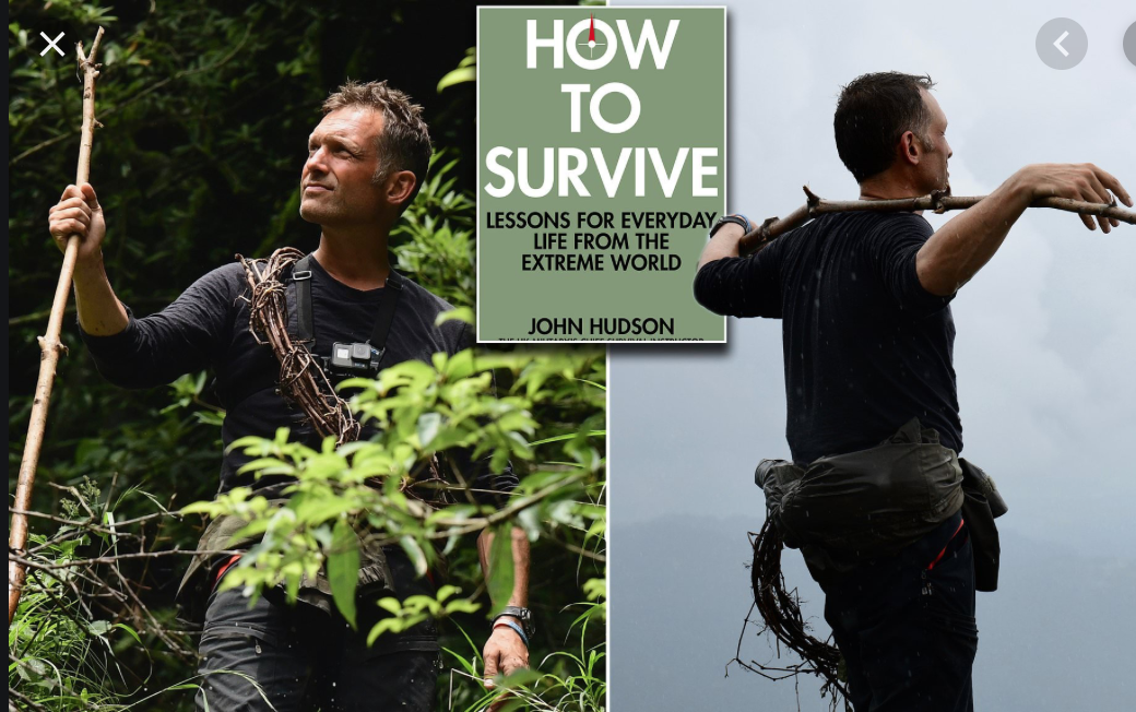 'HOW TO SURVIVE' - DAILY MAIL BOOK REVIEW