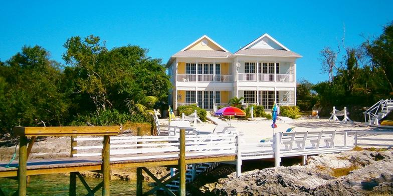 View from Sea of Abaco