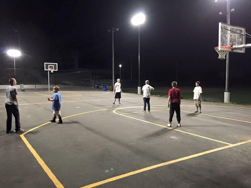 Piddle Park Basketball Court