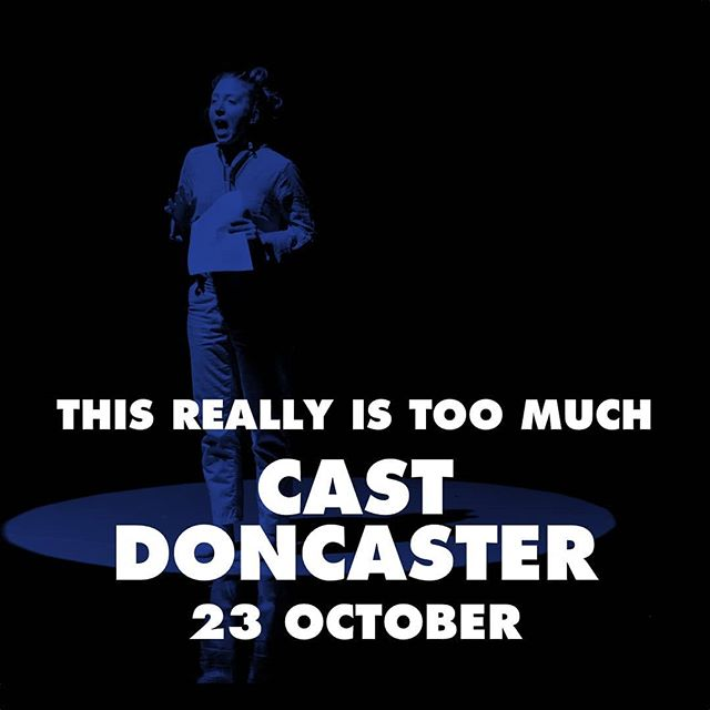 "The tour continues! Next up: #Doncaster  Get your tickets now!! We're bringing #thisreallyistoomuch to @castindoncaster Tuesday the 23rd of October, followed by @arc_stockton on the 24th and @squarechapelarts on the 25th.  This is what The Wee Review said during our #edinburghfringe run 2017: ""This really is too much begins with conformity and veers into expressive and manic absurdity. Dance, spoken word, physical theatre, humour and props are all employed to present a dark and radical look at modern society from a female perspective."" #northerntour #venuesnorth #dancetour #foolsontheroad #doncasterisgreat #leedsartist #feminism #genderroles #showtime #dance #theatre #comedy"