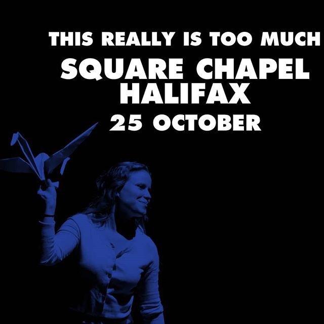"Performing #thisreallyistoomuch at @arc_stockton tonight and tomorrow at @squarechapelarts in #halifax - have you got your tickets?? You will want to see it:  #stockholmfringefestival gave it the Grand Prix for excellence in performance and Broadway Baby said it's ""modern feminist issues depicted in modern theatrical forms ... confrontational, yet humorous – tantalising"" and gave it four stars.  #dancetour #theatre #thenorth #leedsart #madeupnorth #awardwinning #fourstars #feministperformance"