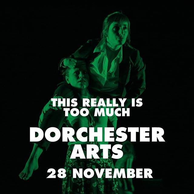 We're in #Dorset and it's BRILLIANT! Yesterday we had a ball at The Bay Theatre, Weymouth College, to a pretty much sold out house. And tonight it looks like Dorchester will deliver  equally good. ONLY TEN TICKETS LEFT! Get them if you wanna see our last-ever performance of #thisreallyistoomuch - award-winning feminist comedy dance at its best.  #selloutshow #whatsonindorset #dorchester #dancecompany #dancetheatre #ontheroad #fewticketsleft #awardwinning