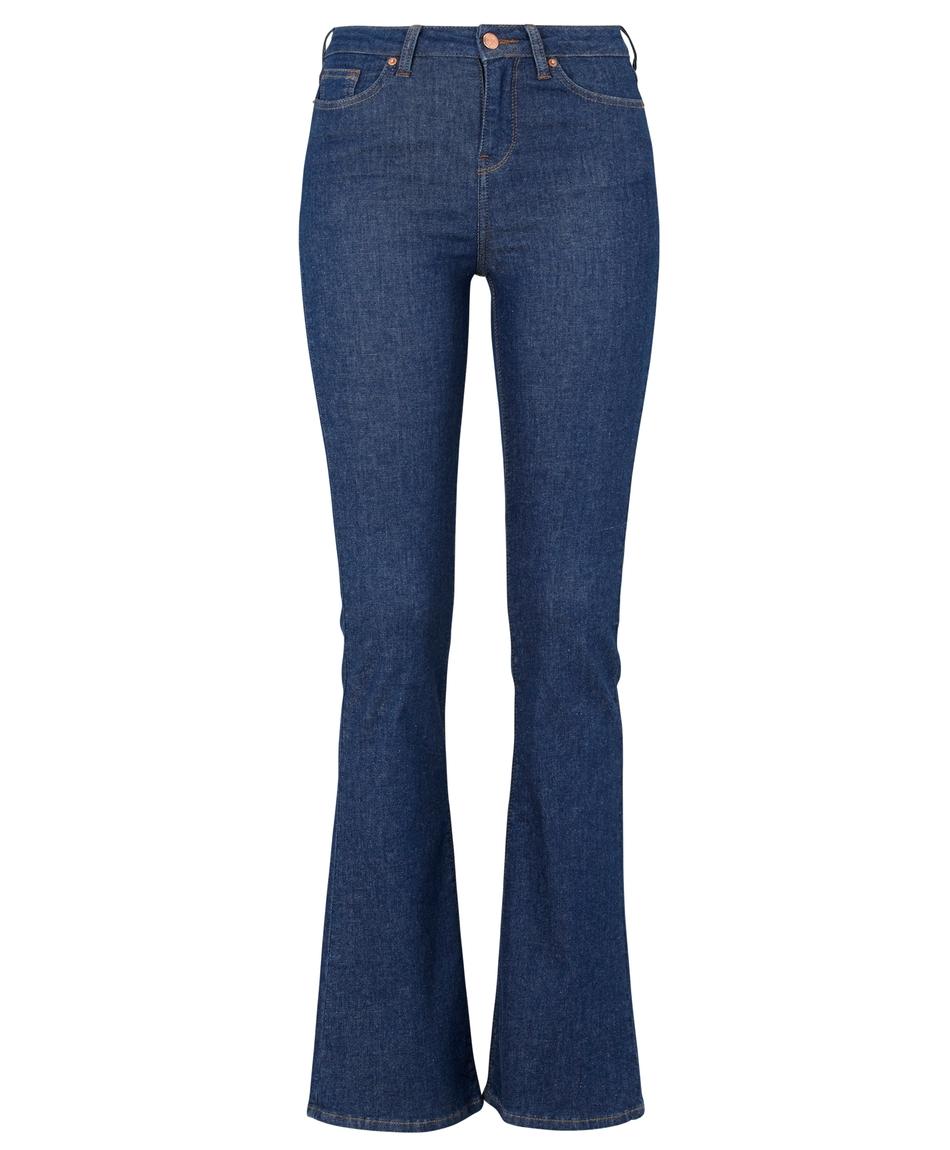 Utsvängda jeans.