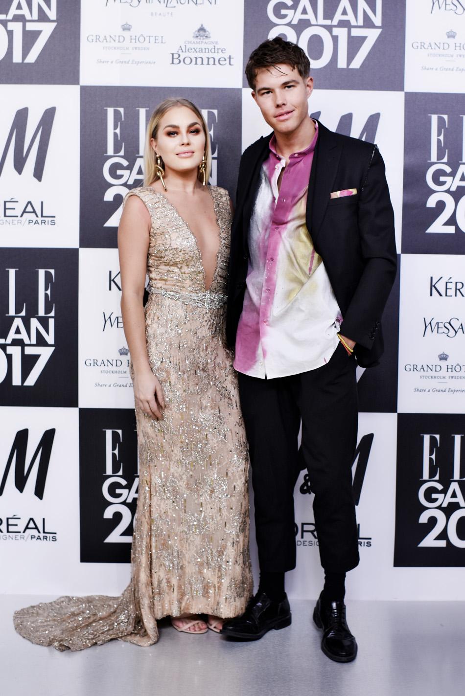 Modebloggarna Angelica Blick och Andreas Wijk