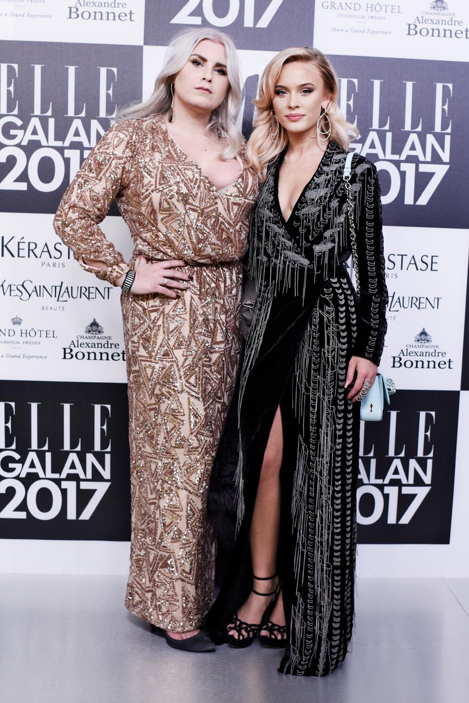 Michaela Hamilton och Zara Larsson