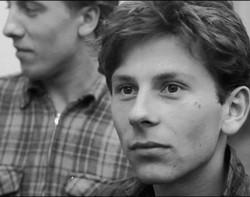 En ung Roman Polanski.